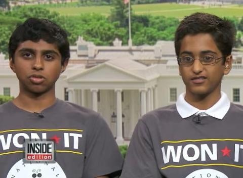 News video: Spelling Bee Winners Happy To Have Won It Together